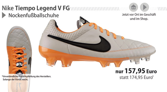 Die neuen Nike Tiempo Legend V FG!